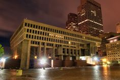 https://flic.kr/p/8xViXJ | Boston City Hall | 8/4/2010:  Boston City Hall (built 1969) is the seat of the municipal government of Boston, Massachusetts.  Architecturally, it is a 9-level, horizontally-oriented brutalist building designed by Kallmann McKinnell & Knowles. It is located on an unadorned concrete-and-brick plaza in the larger Government Center complex.  Visit my blog at www.toddlandryphotography.wordpress.com for more.