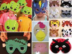 máscaras+de+goma+eva+para+niños