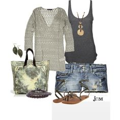 Oversized sweater, created by jayneann1809 on Polyvore