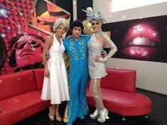 Caracoltv.com estuvo con el equipo de presentadores del programa hablando sobre la preparación de sus disfraces.