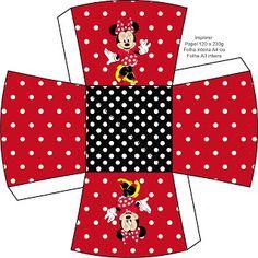 Kit Completo Minnie Vermelha - Com molduras para convites, rótulos para guloseimas, lembrancinhas e imagens! |Fazendo a Nossa Festa