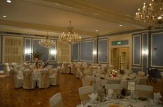 Chandelier-studded Reception - The Madison Club