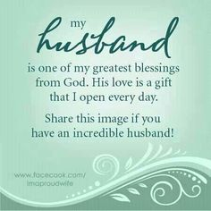 I love my Husband and Best friend