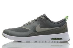 newest e3e50 1257c UK Market - Nike Air Max Thea Mens Dark Grey White Trainers