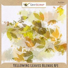 Yellowing Leaves Blends No.1 by Giny Scrap