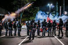 Ação policial durante ato em 2 de setembro
