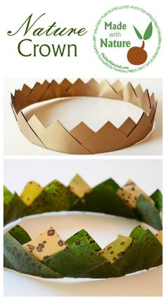 Made with Nature -Fun and Creative Nature Crown DIY