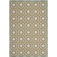 @Overstock - Safavieh Indoor/ Outdoor Hampton Light Blue/ Ivory Rug (6'7 x 9'6) - Safavieh's Hampton collection is inspired by timeless contemporary designs crafted with the softest polypropylene available.  http://www.overstock.com/Home-Garden/Safavieh-Indoor-Outdoor-Hampton-Light-Blue-Ivory-Rug-67-x-96/8353077/product.html?CID=214117 $148.99