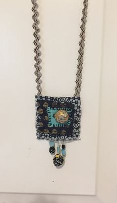 Gentlework fabric necklace