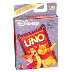 Amazon.com: MY FIRST UNO KING-SIZE Card Game with Winnie-the-Pooh: Toys & Games