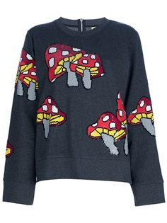 ASHISH Mushroom Sweater. I wouldn't wear this, but I'd hang out with someone who did