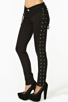 Corset Skinny Jeans...awesomeness..♥♥♥want!!!