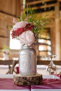 Rustic Elegant Barn Wedding