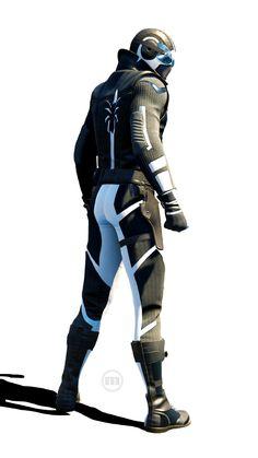 mosheeno on Marvel's Spider-Man Noir/Future Foundation suit morph<br> Spiderman Suits, Black Spiderman, Spiderman Art, Amazing Spiderman, Marvel Dc, Marvel Comics Art, Marvel Heroes, Venom Comics, Comic Book Superheroes