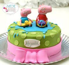 EDITOR'S CHOICE (8/21/2013) pepa pig cake by mdt View details here: http://cakesdecor.com/cakes/79999