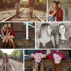 College Rivals MISS STATE VS AUBURN - Best friends photoshoot