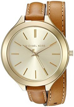 Michael Kors Women's MK2256 Runway Watch With Brown Leather Wrap Band Michael Kors http://smile.amazon.com/dp/B007D41C8U/ref=cm_sw_r_pi_dp_Cmx6wb1TVC0YN