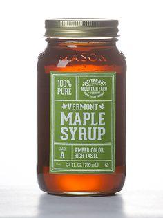 Mason Jar Maple Syrup, 24 Oz.