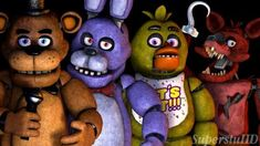 [ The Fnaf 1 Gang By Superstuhd On Deviantart ] - Best Free Home Design Idea & Inspiration Freddy S, Five Nights At Freddy's, Fnaf Wallpapers, William Afton, Fnaf 1, Tomorrow Is Another Day, Fnaf Drawings, Freddy Fazbear, Rpg Horror Games