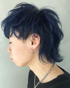 by / XENA渋谷 代表 Mullet Haircut, Mullet Hairstyle, Short Grunge Hair, Short Punk Hair, Edgy Hair, Cut My Hair, Hair Cuts, Hair Inspo, Hair Inspiration