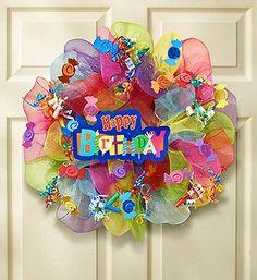 Happy Birthday Wreath