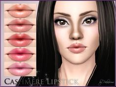 New lipstick for your sims! Your sims will love their new look ;)  Found in TSR Category 'Sims 3 Lipstick'