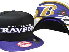 NFL Baltimore Ravens Snapback Black NewEra Hats 035 9471|only US$8.90