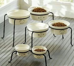 Pet Bowl And Stand...