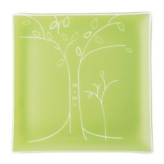 Personalized Tree Anniversary Plate, $100, Mary Irwin-Scott