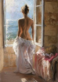 Природа женского образа в картинах Vicente Romero Redondo