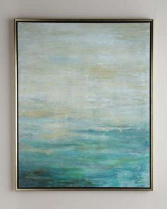 """Love this as art over fireplace. """"As the Water Flows"""" Giclee by John-Richard Collection at Neiman Marcus."""