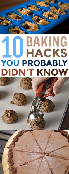 Hacks These 10 Baking Hacks You Probably Didn't Know will surely make you be a better baker in no time! These 10 Baking Hacks You Probably Didn't Know will surely make you be a better baker in no time! Cute Baking, Baking With Kids, Fall Baking, Baking Tips, Baking Recipes, Baking Hacks, Baking Videos, Coconut Recipes, Food Hacks