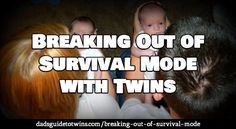 For any of you who, like me, have baby twins - it's all about trying to find ways to reduce some of the insanity. Good tips in here.