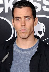 Steve-O, I don't remember letting you out of my basement! Get back in der!