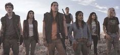 Native tribe kills zombie outsiders at Grand Canyon in Z Nation TV Series