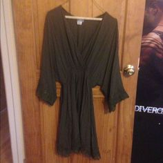 Nwot Dancing In The Forest Lace Slip Dress