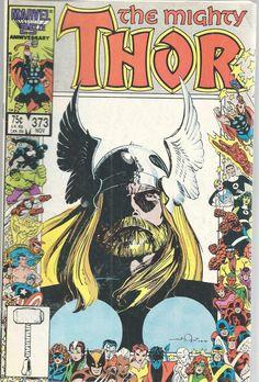 Mighty Thor Marvel Comics Vol 1 No 373 Nov 1986