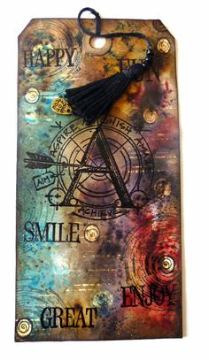 Astrid's Artistic Efforts with a tag made by Anneke of Anneke's Card Art; Aug 2014