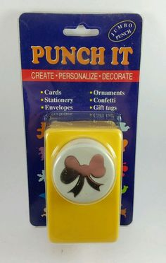 McGill Giant Button Punch Swirl New