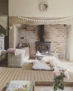 Stunning Bespoke Seagrass Herringbone Rugs sizes available) - Peony & Sage Living Room Decor Sage Living Room, Cottage Living Rooms, Living Room Interior, Apartment Living, Rustic Apartment, Cozy Living, Apartment Ideas, Cottage Shabby Chic, French Cottage