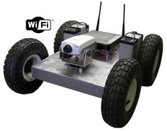 fully programmable 4WD robot