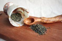 Bath Beauty Set wooden tray spoon pestle and by MonkEyGstudio,