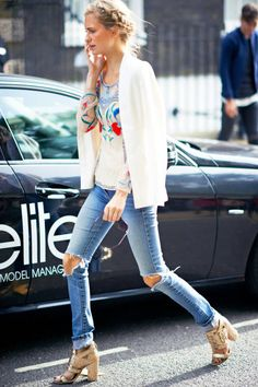 Best Street Style Pictures 2012 - NYC Paris Street Style Pictures 2012 - ELLE braids for day<3