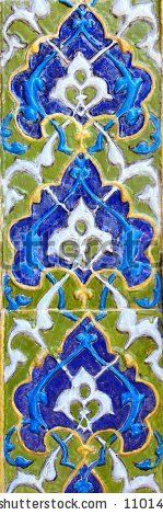 Old Colourful Turkish Tiles in Yesil (Green) Mosque by muharremz, via ShutterStock