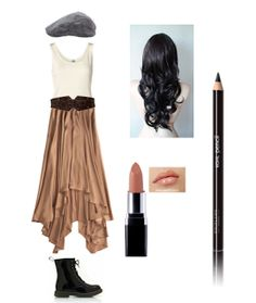 Lace, Leather, and Ruffles!: Eponine costume!