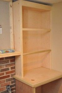 Building Built-In Cabinets and Shelves (Part - One Project Closer Shelves Around Fireplace, Fireplace Built Ins, Fireplace Design, Brick Fireplace Remodel, Fireplace Redo, Fireplace Ideas, Bookshelf Plans, Built In Bookcase, Bookcases