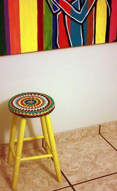 Milonga: Banco de crochê