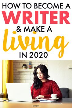 How to Become a Writer and Make a Living in 2020 Want to be a writer? Learn how to become a fiction writer or freelance writer in It's easier than you think to make money writing! Easy Online Jobs, Make Money Online, How To Make Money, How To Become, Make Money Writing, Writing Tips, Writing Rubrics, Grant Writing, Paragraph Writing