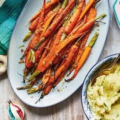 Ginger and Honey-Roasted Carrots Vegetarian Recipes Dinner, Dinner Recipes, Healthy Recipes, Healthy Food, Cake Pops, Low Carb Torte, Philadelphia Torte, Honey Roasted Carrots, Ricardo Recipe