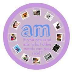 Classroom Freebies: Smartboard Lesson on -am Word Family!